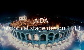 Aida - historical stage design 1913